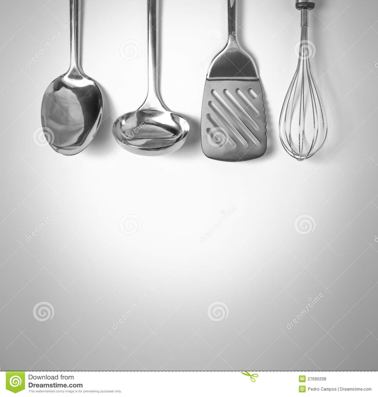 Kitchen Tools Background Royalty Free Stock Photos Image 27690208