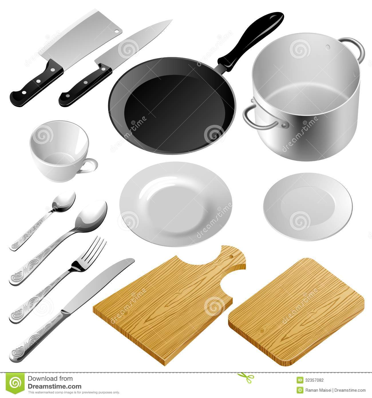 Kitchen Tools Stock Photography Image 32357082
