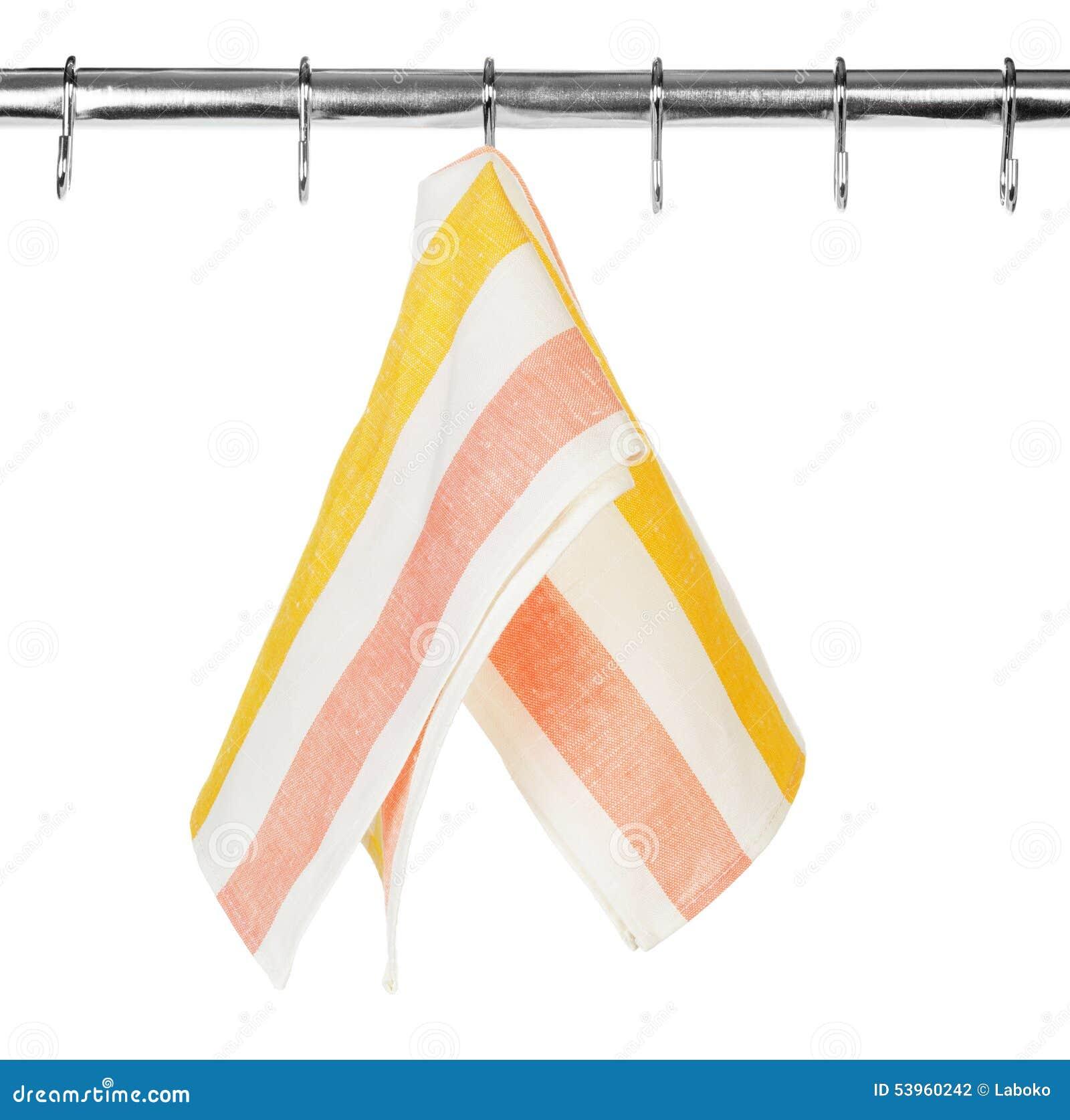 Kitchen Towel Hanging Kitchen Towel Hanging On A Hook Stock Photo Image 53960242