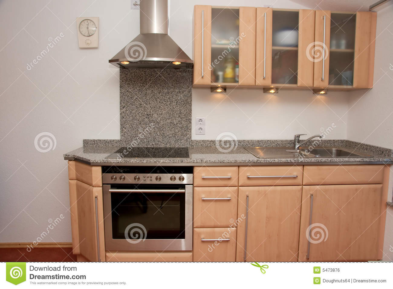 how to clean kitchen units