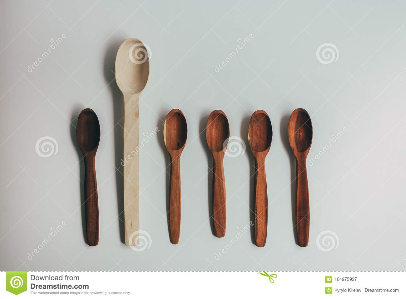 Kitchen Utencils Set For Takeaway Business: Wooden Recycling
