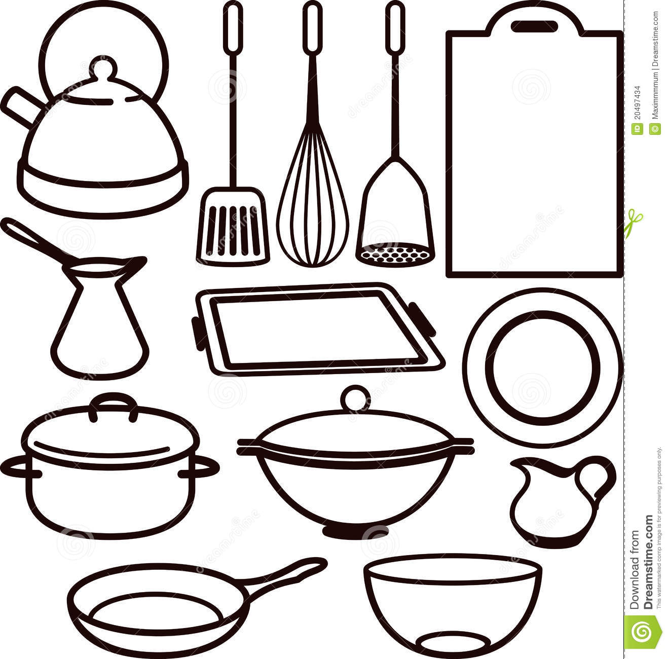 kitchen utensil stock illustration image of masher  blender 20497434 mixing bowl clip art free mixing bowl and whisk clipart