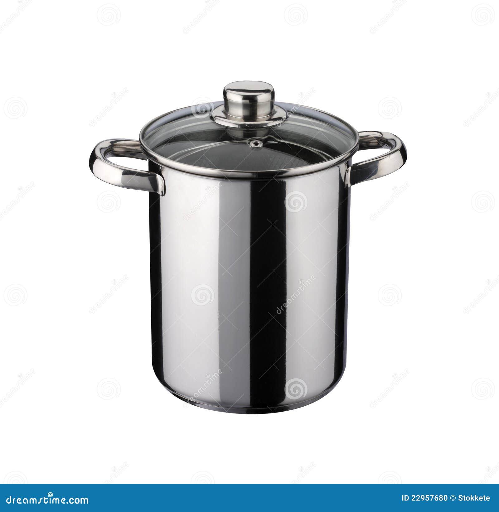 Kitchen Utensil:pot For Cook The Spaghetti Stock Photo - Image of ...