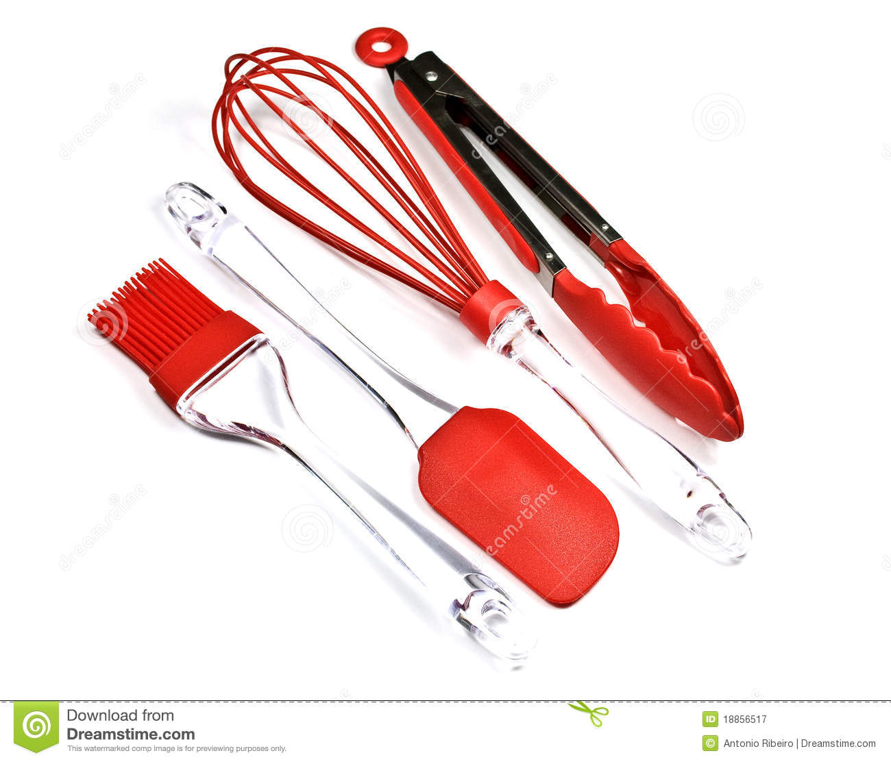 Kitchen utensils stock image image of useful silicone for Modern kitchen utensil