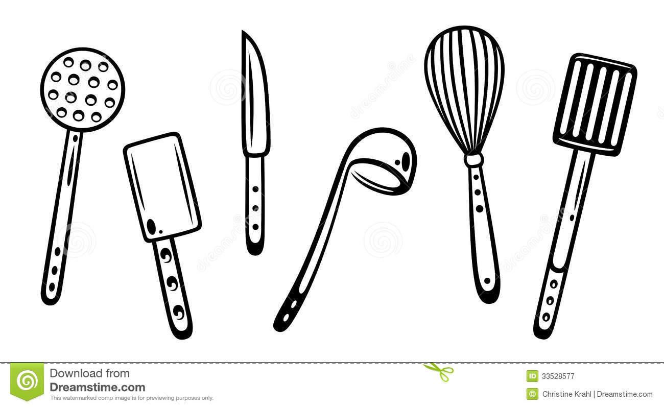 Kitchen utensils royalty free stock photography image - Enseres de cocina ...