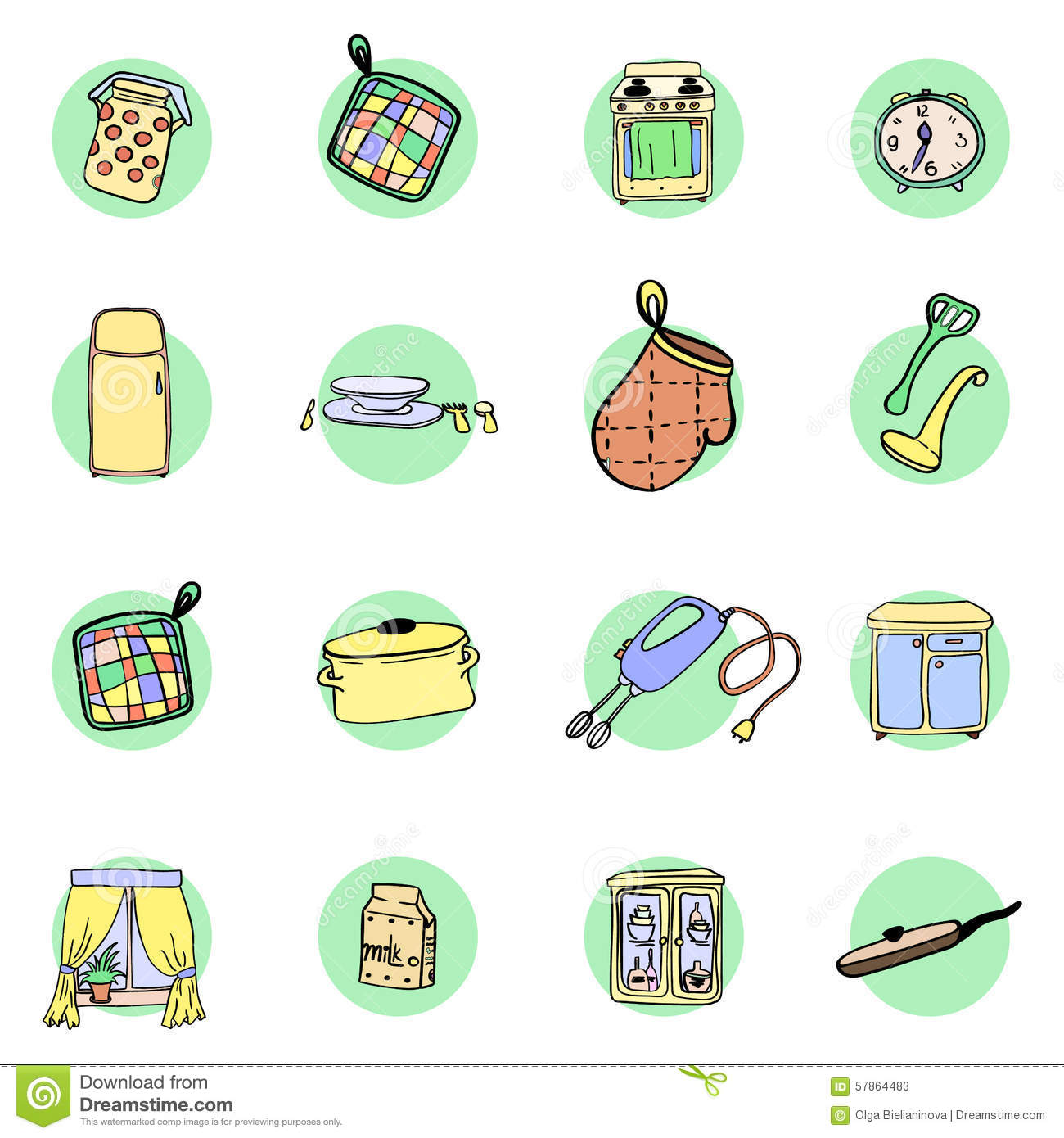 kitchen utensils storage cabinet with Stock Illustration Kitchen Utensils Cookware Hand Drawn Icons Set Cooking Tools Kitchenware Equipment Cartoon Design Elements Image57864483 on Simple Ideas To Organize Your Kitchen together with Small Kitchen Storage Ideas For Your Home besides Kitchen Organization Tips likewise Kitchen Cabi  Organization as well Old World Kitchen Designs.