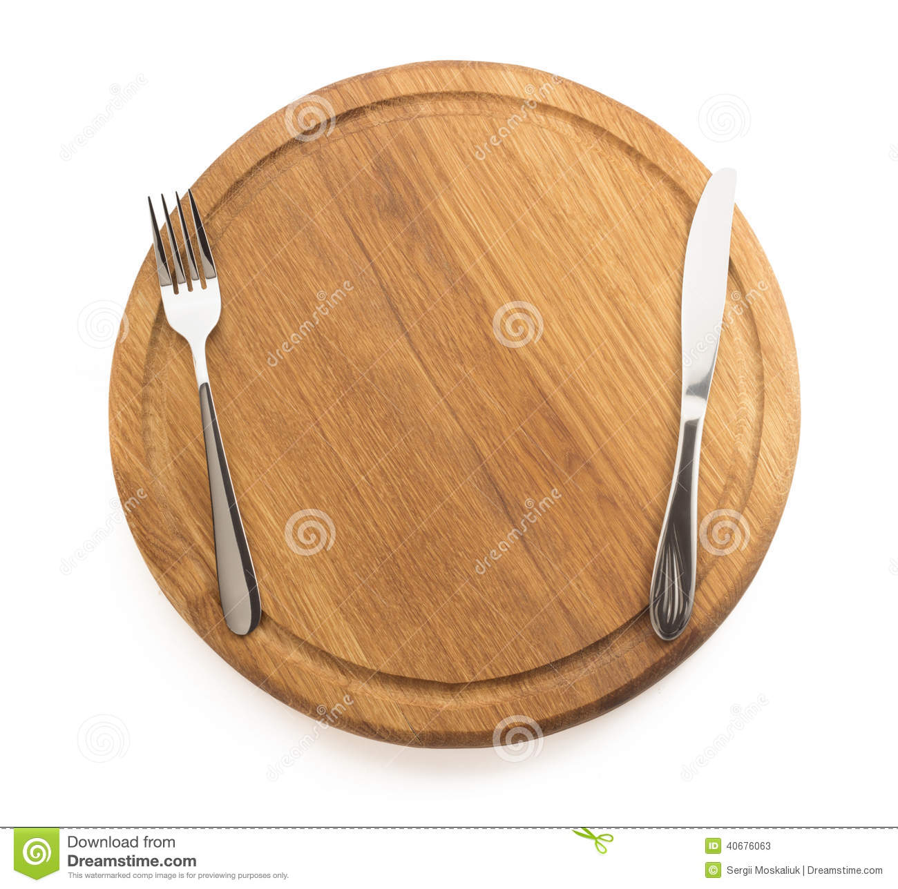 Kitchen Utensils At Cutting Board Stock Photo Image