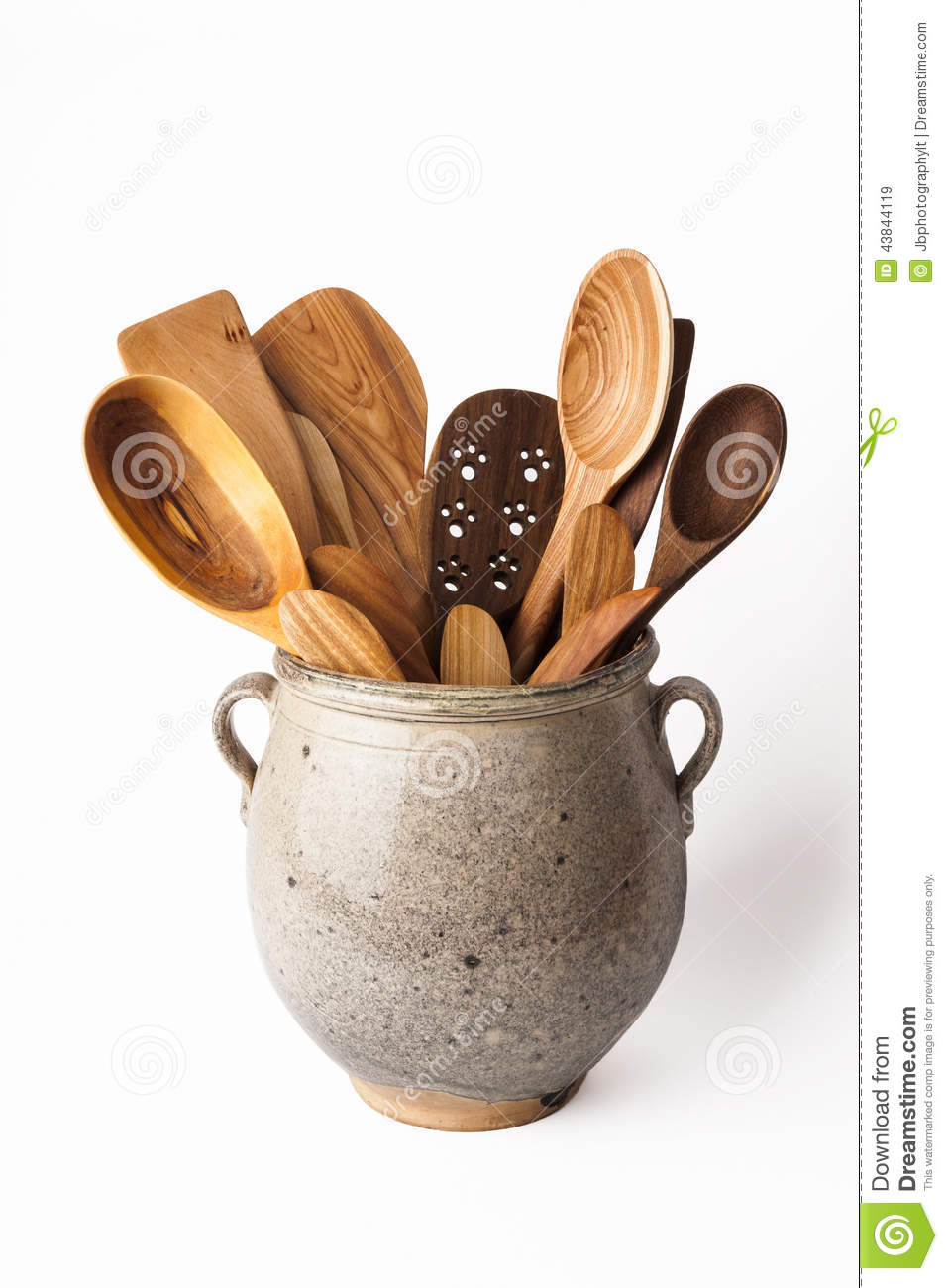 Wood Kitchen Equipment : Kitchen utensils stock photo image