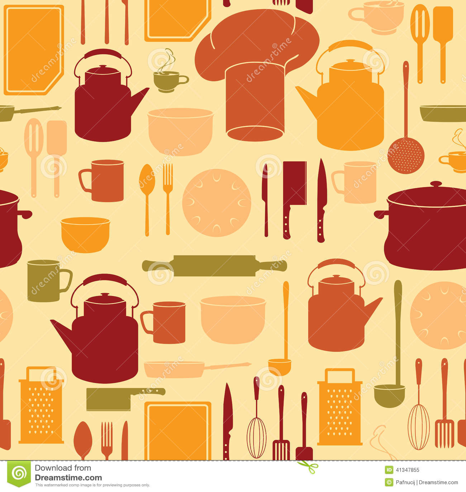 Painting Kitchen Utensils