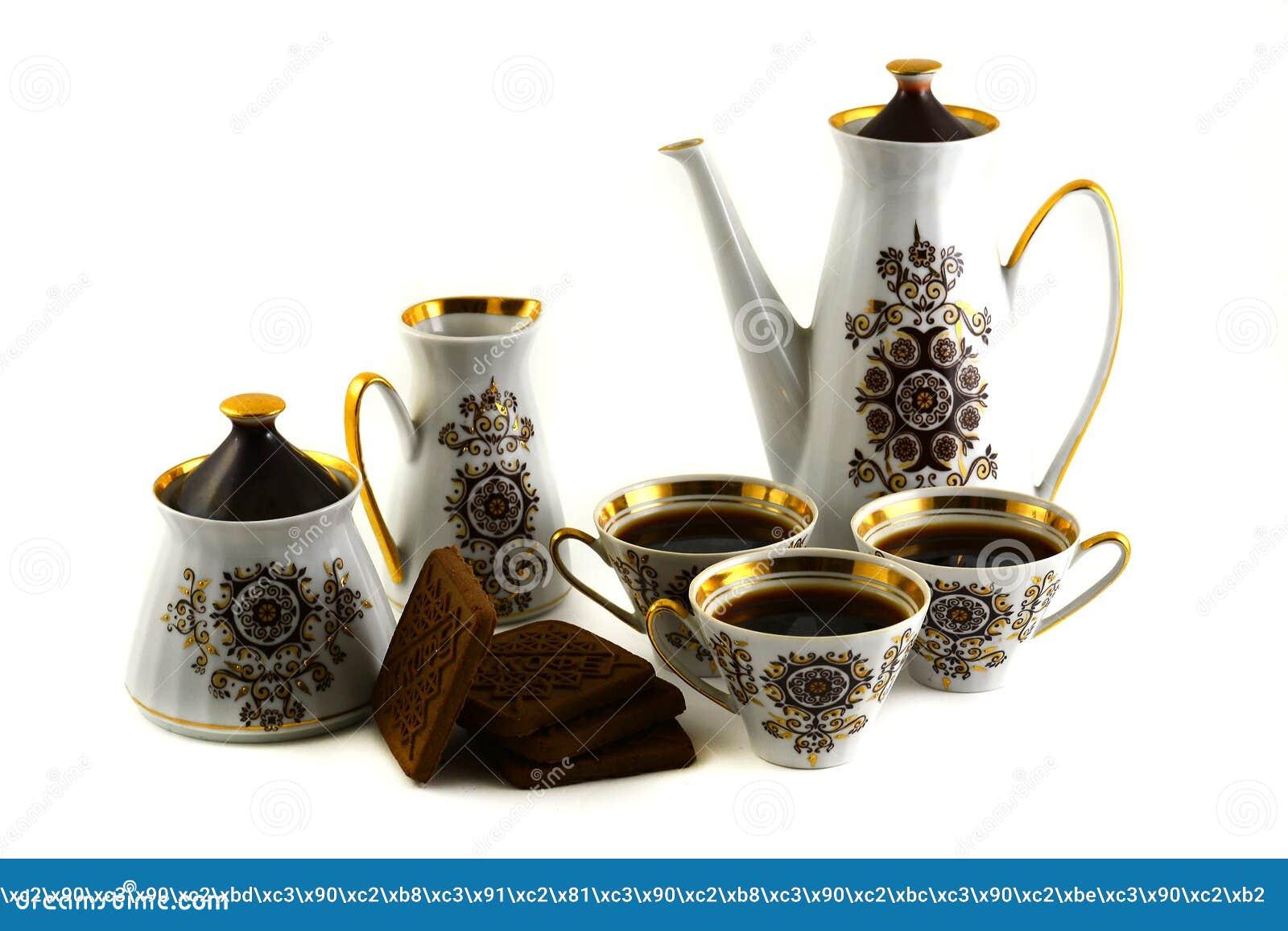 A kitchen utensils set