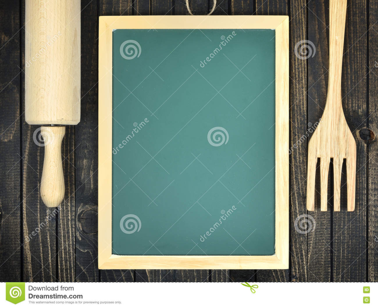 Kitchen utensils on table stock photo. Image of lesson - 76080278
