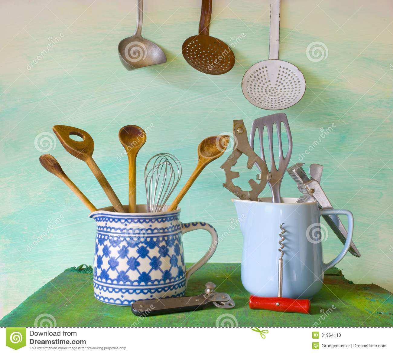 Kitchen Utensils Stock Photo - Image: 31964110