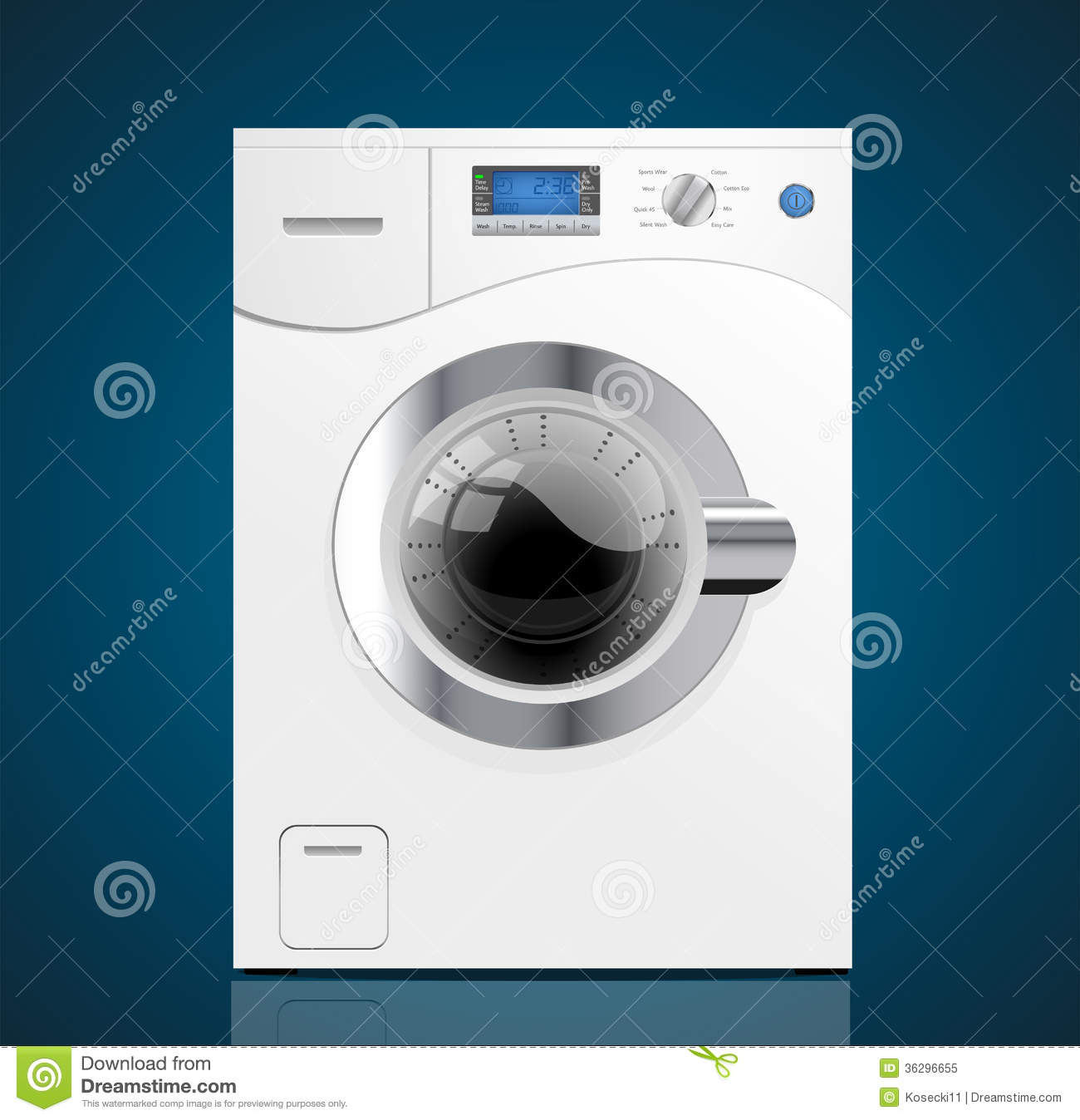 Kitchen Washing Machine ~ Kitchen washing machine royalty free stock photo image