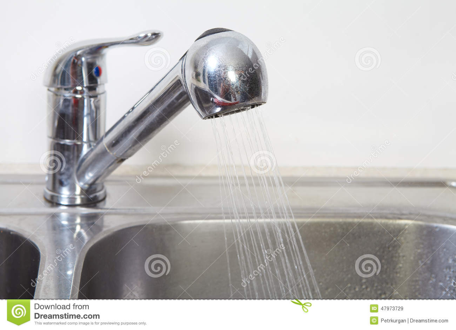 Clogged Kitchen Sink Stock Photo Cartoondealer Com 79500750
