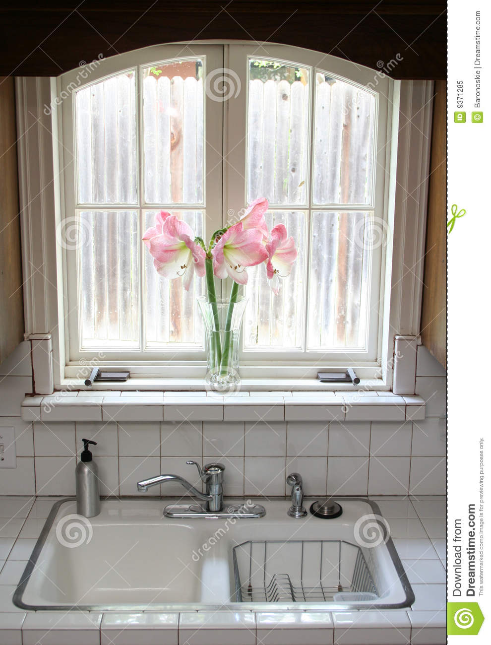 Kitchen Window Kitchen Window Royalty Free Stock Photo Image 9371285