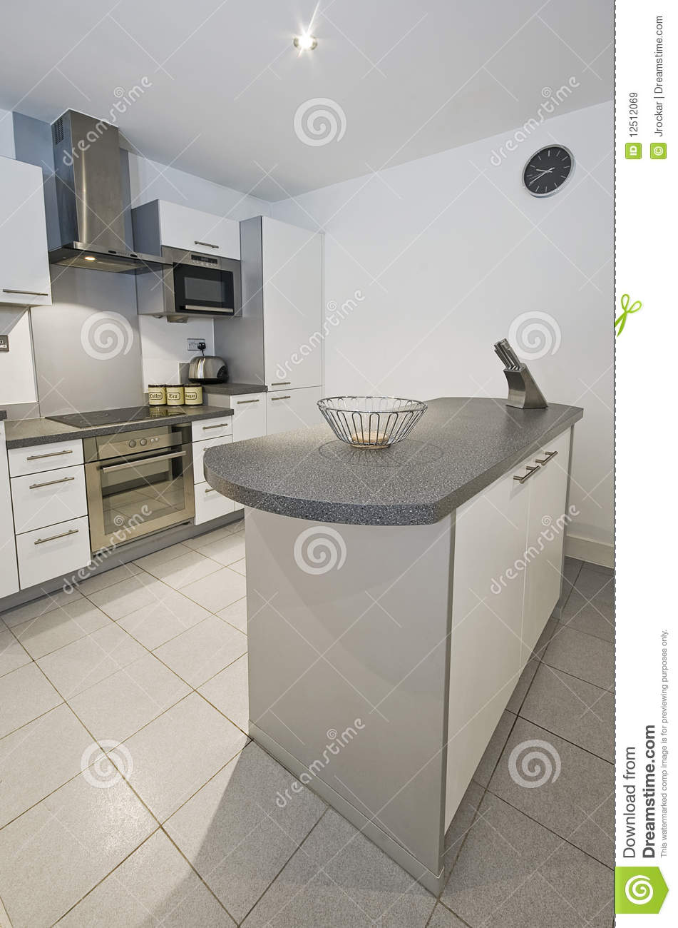 Kitchen With Work Zones Royalty Free Stock Images Image 12512069