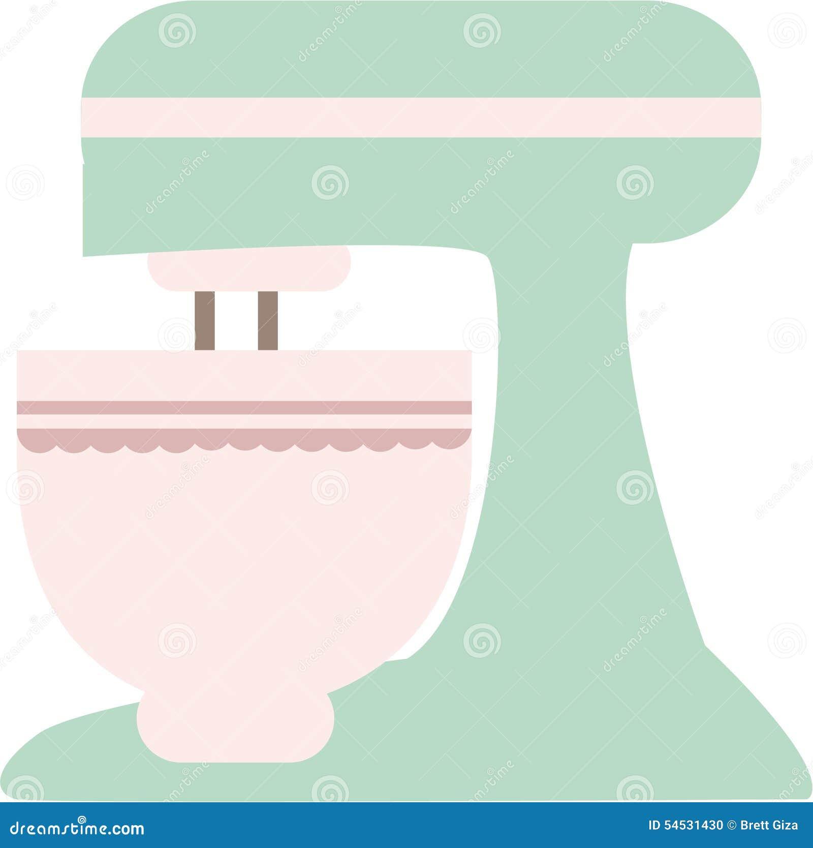 Kitchen Aid Immersion Blender Kitchenaid Mixer Stock Illustration - Image: 54531430