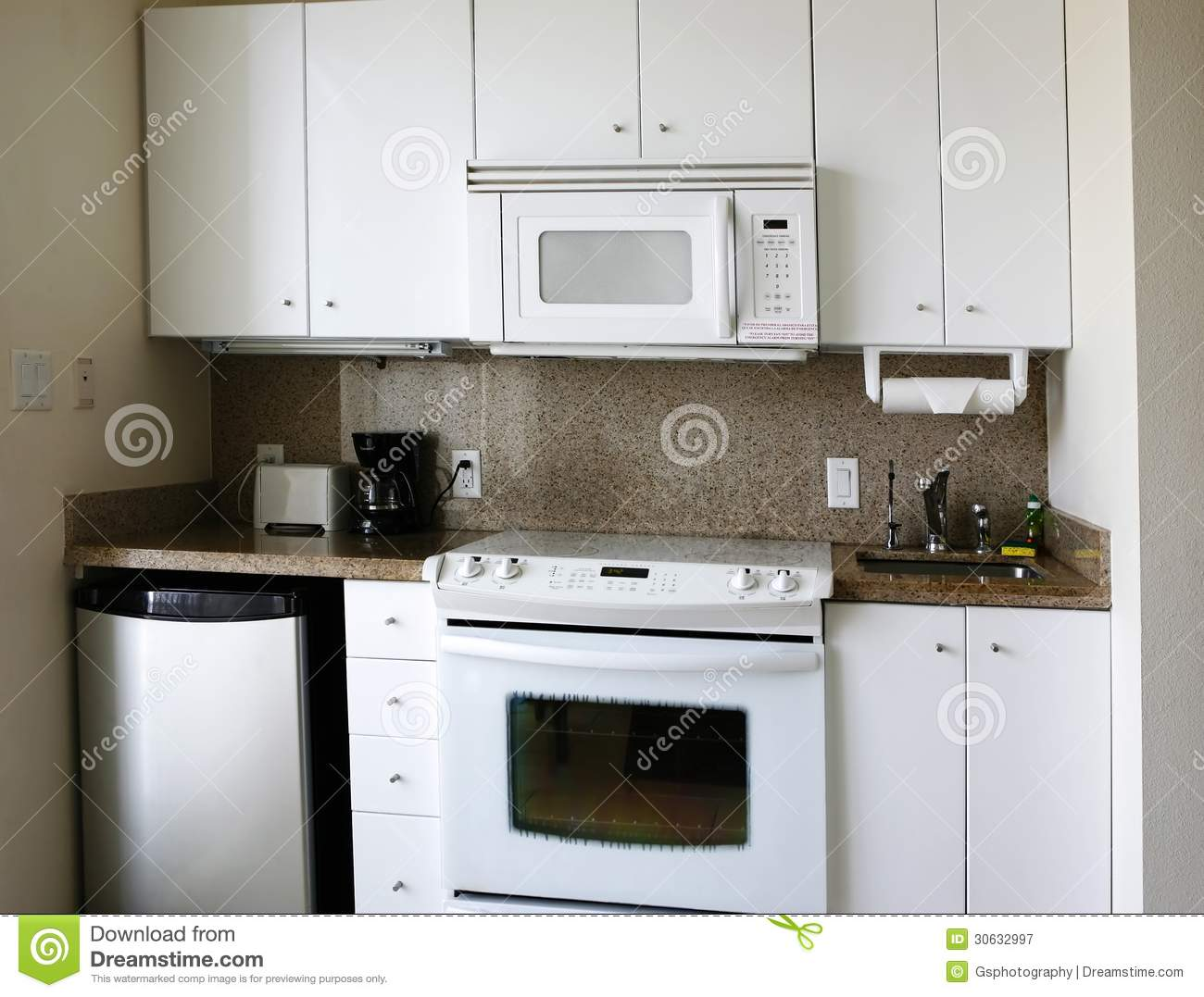 Kitchenette Royalty Free Stock Photography Image 30632997