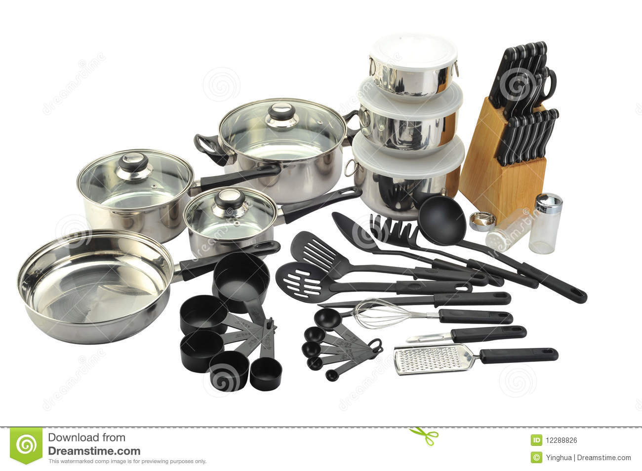 Kitchenware Royalty Free Stock Image - Image: 12288826