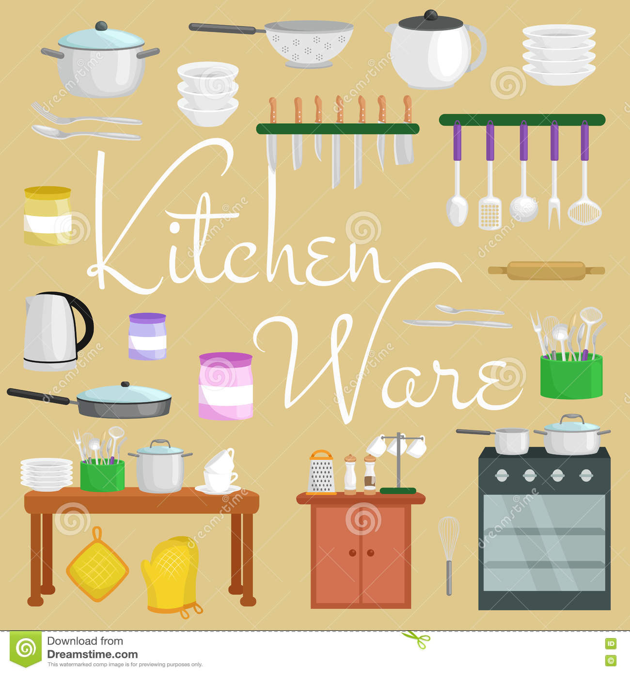Kitchen Equipment Cartoon ~ Whisk cartoons illustrations vector stock images