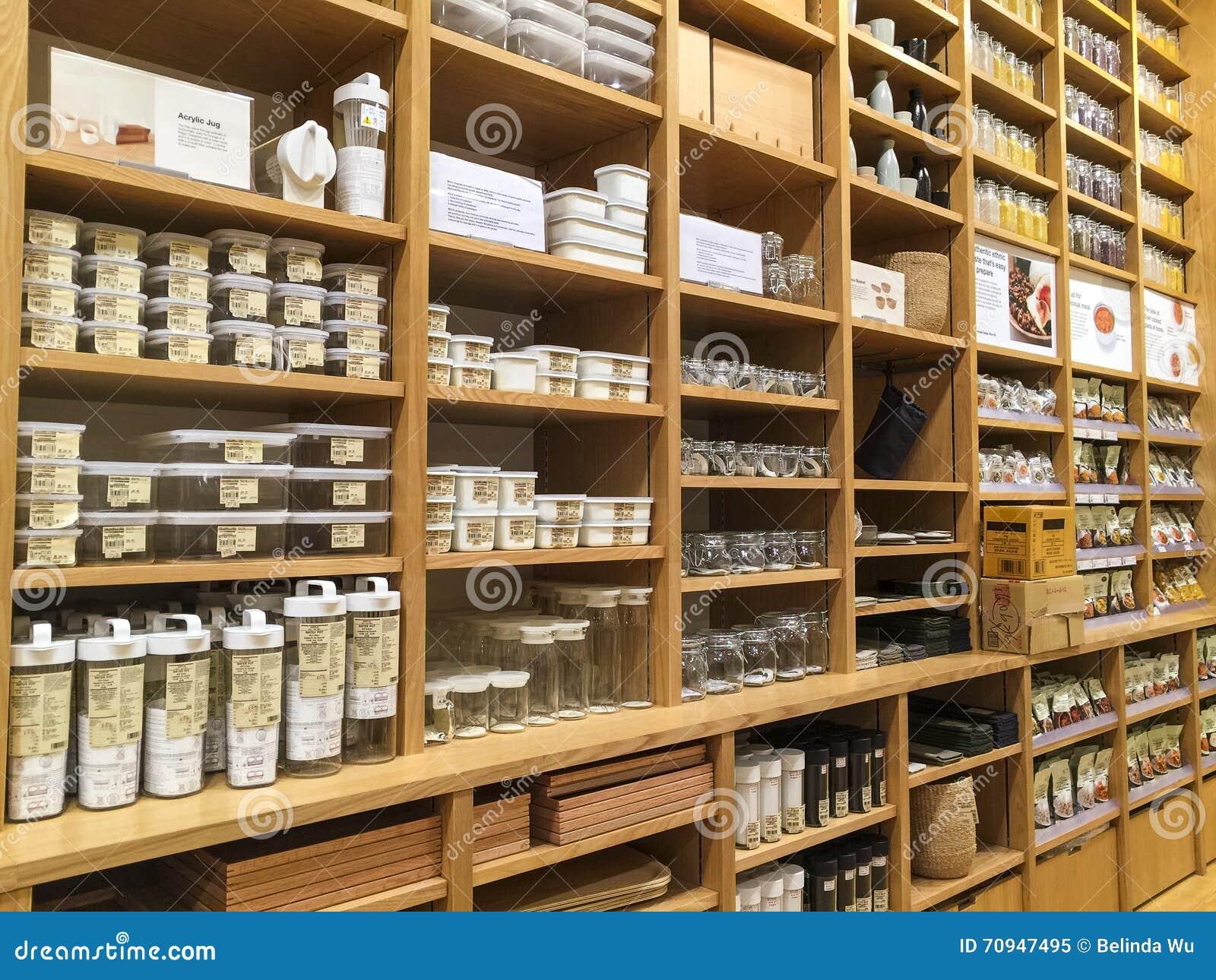 Kitchenware stock image. Image of food, shelves, kitchen ...