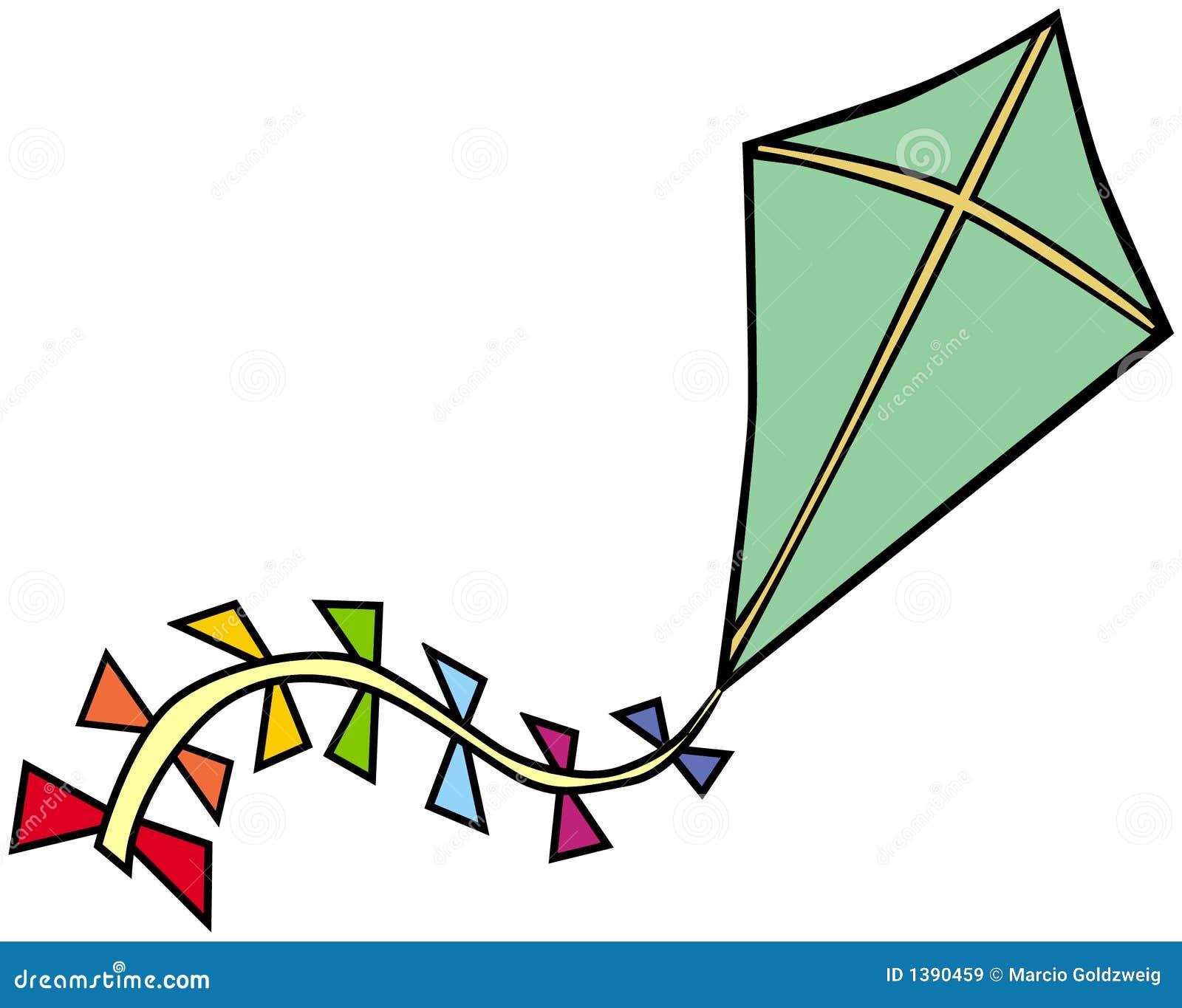 Line Art Kite : Kite royalty free stock images image