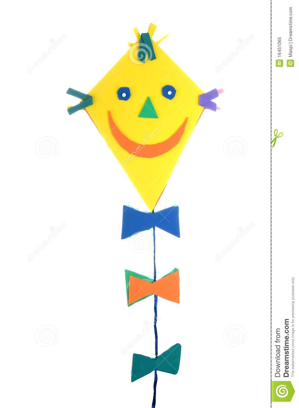 Kite decoration stock image image of smile decoration 16451065 for Decoration image