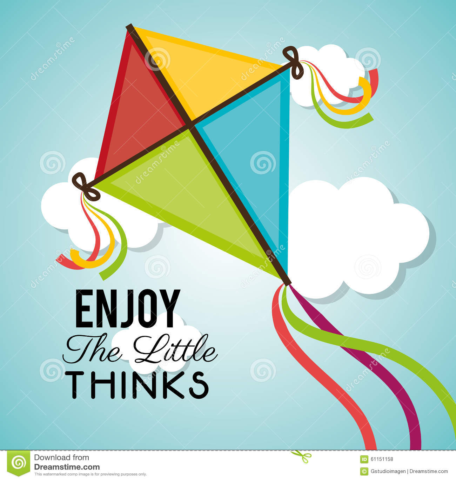 flying kite illustration - photo #16
