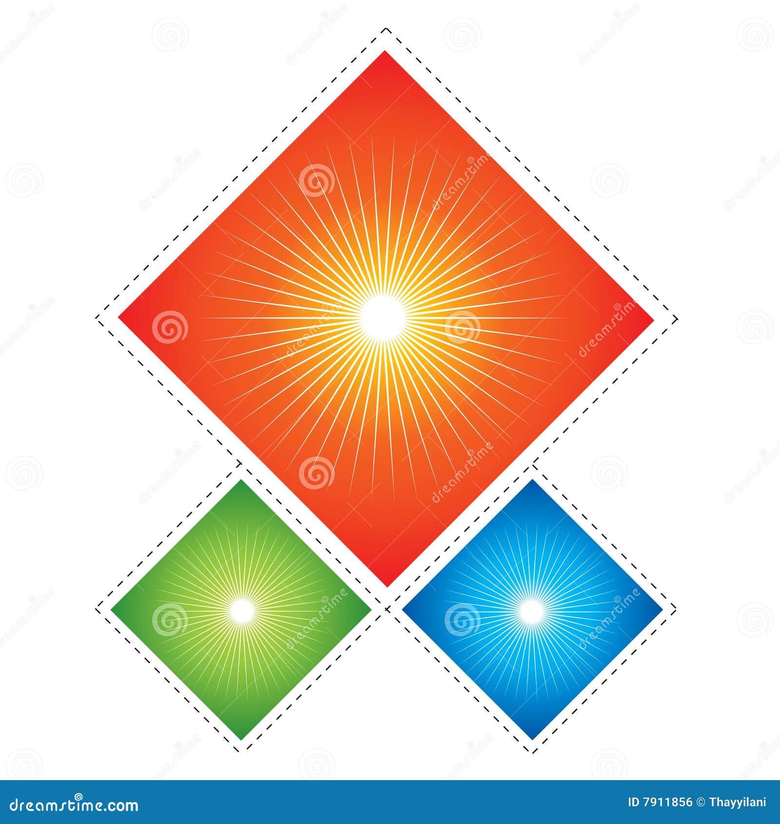 kite shaped dangler royalty free stock image image 7911856