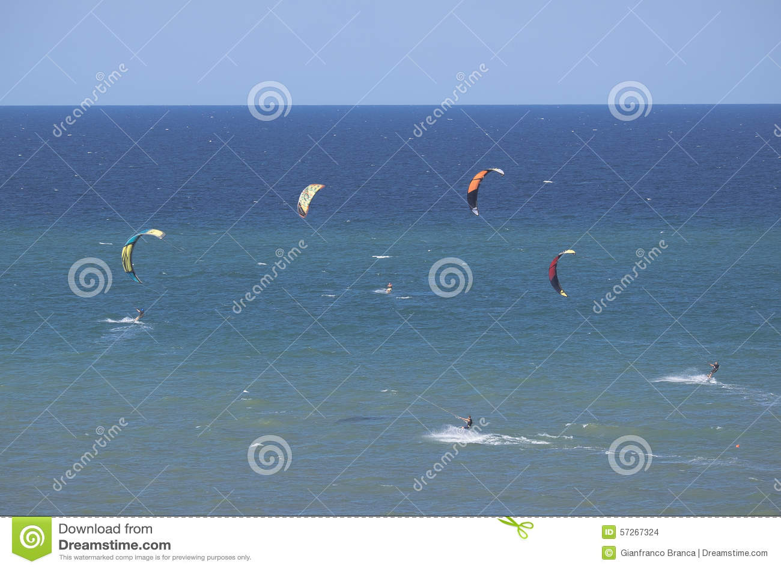 Kitesurf, la corsa