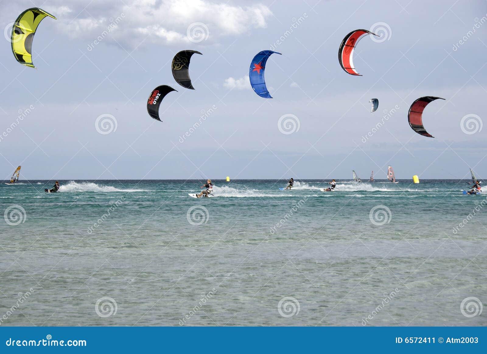Kitesurf - The race
