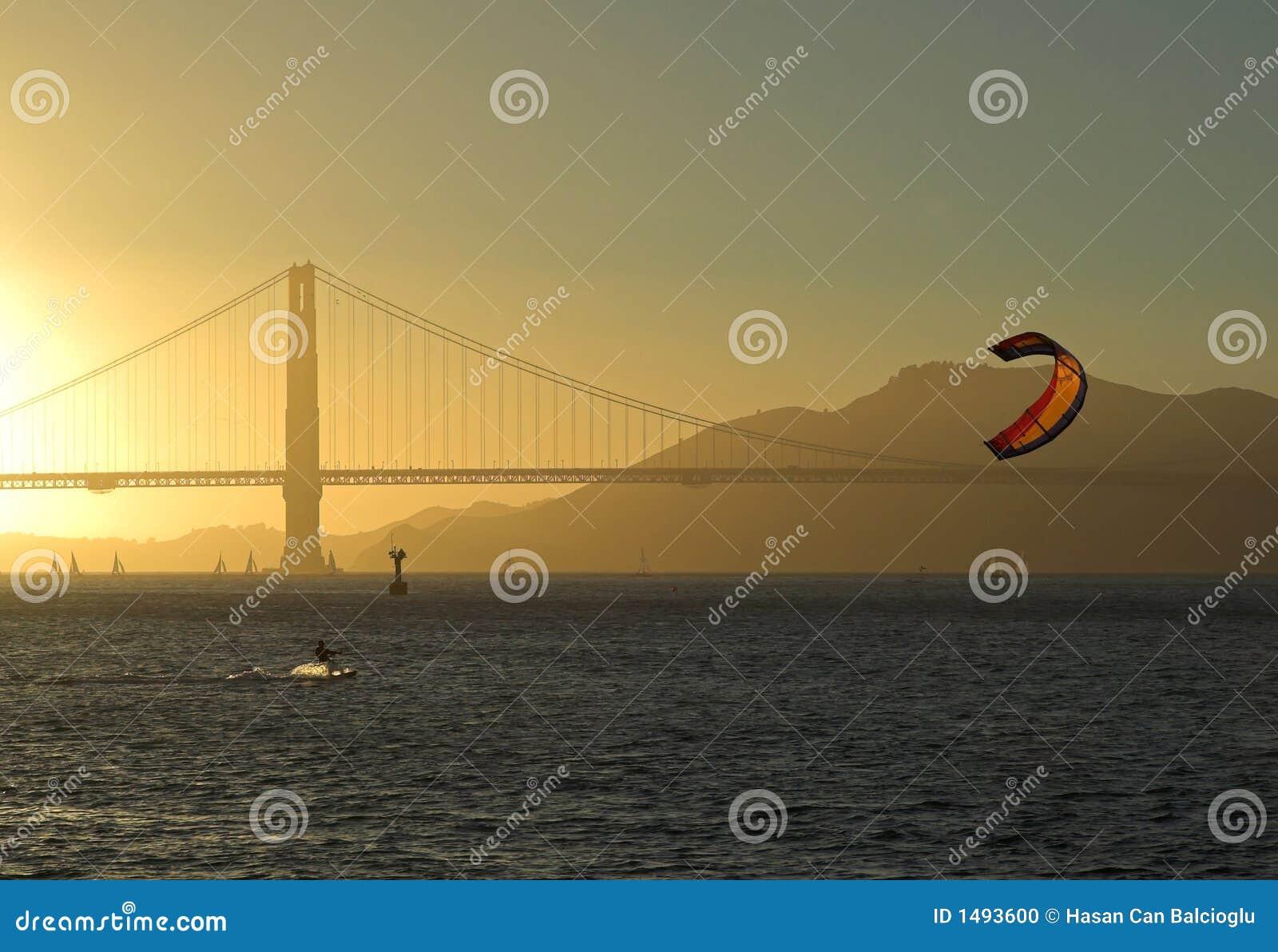 Golden gate bridge san francisco sunset taken at sunset a