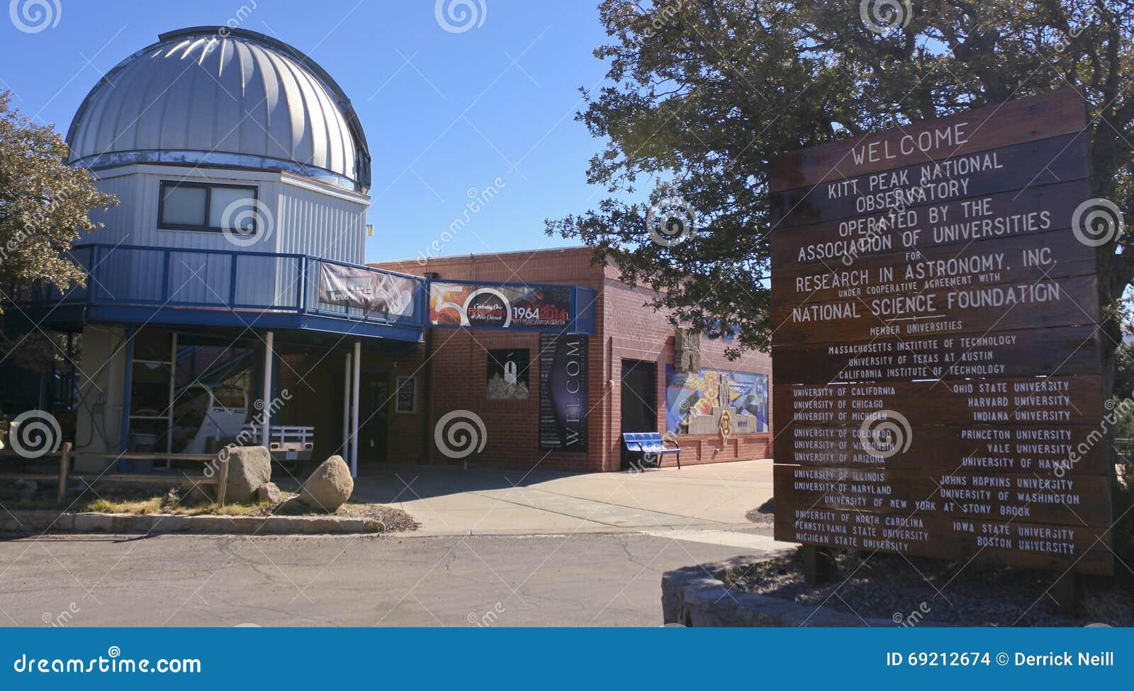 43541d03415532 A Kitt Peak National Observatory Visitor Center Editorial Stock ...