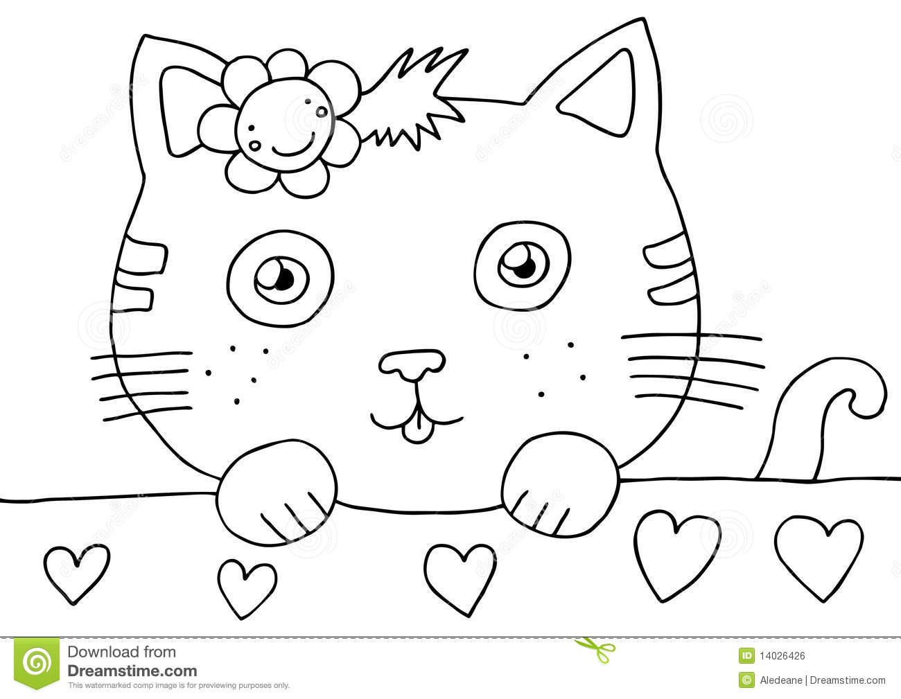 pussyfoot coloring pages - photo#38