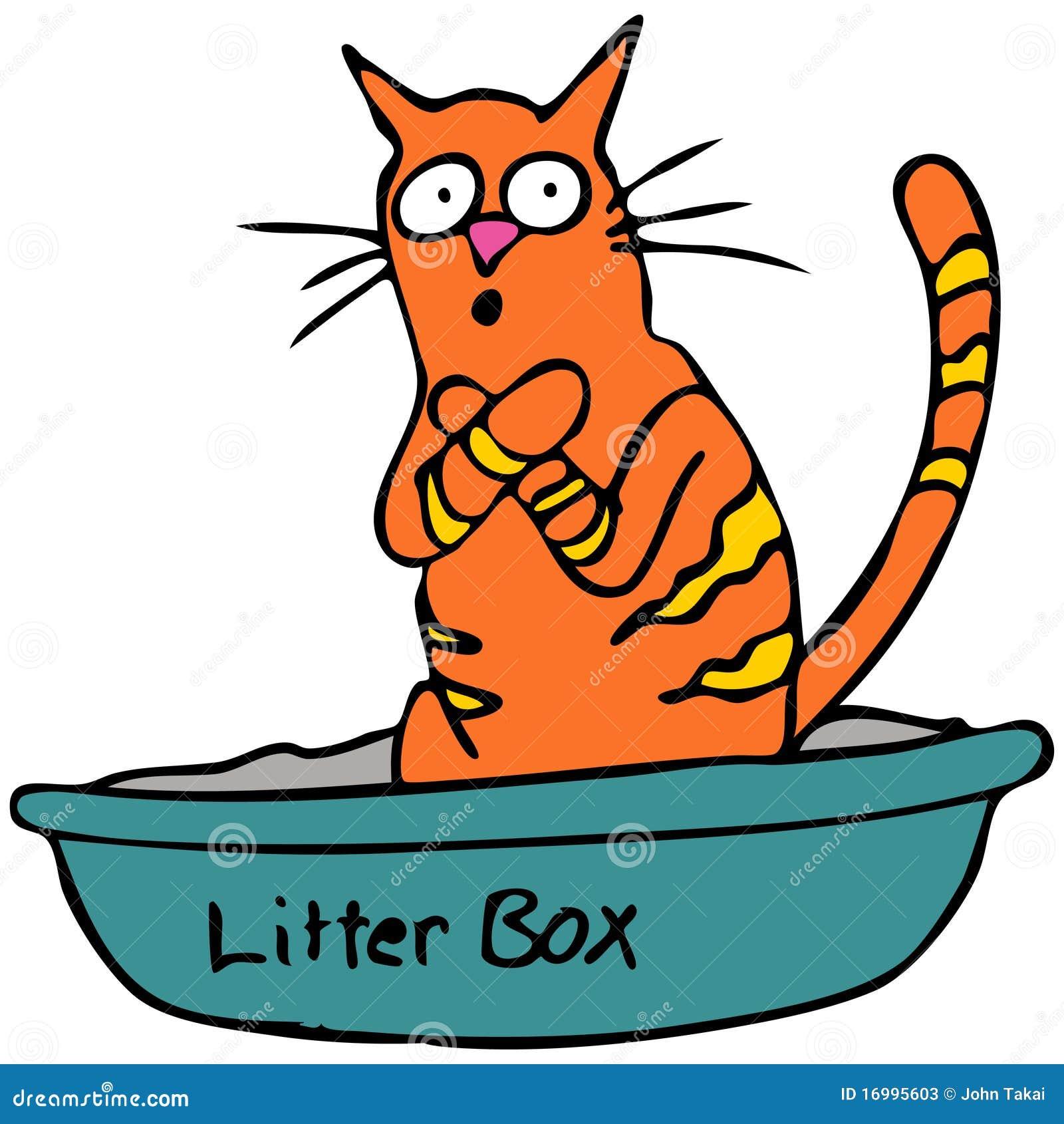 Litter Box Clipart