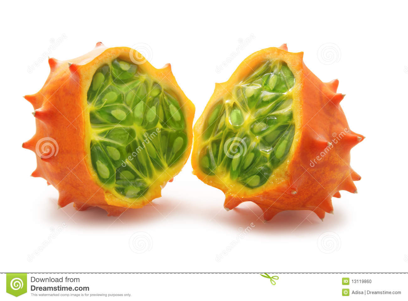 Kiwano Stock Photo - Image: 13119860