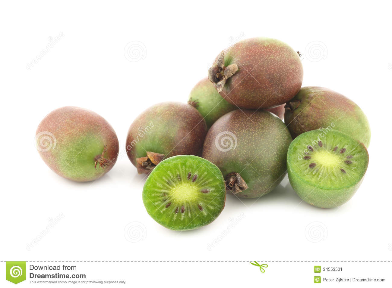 how to eat kiwi berries