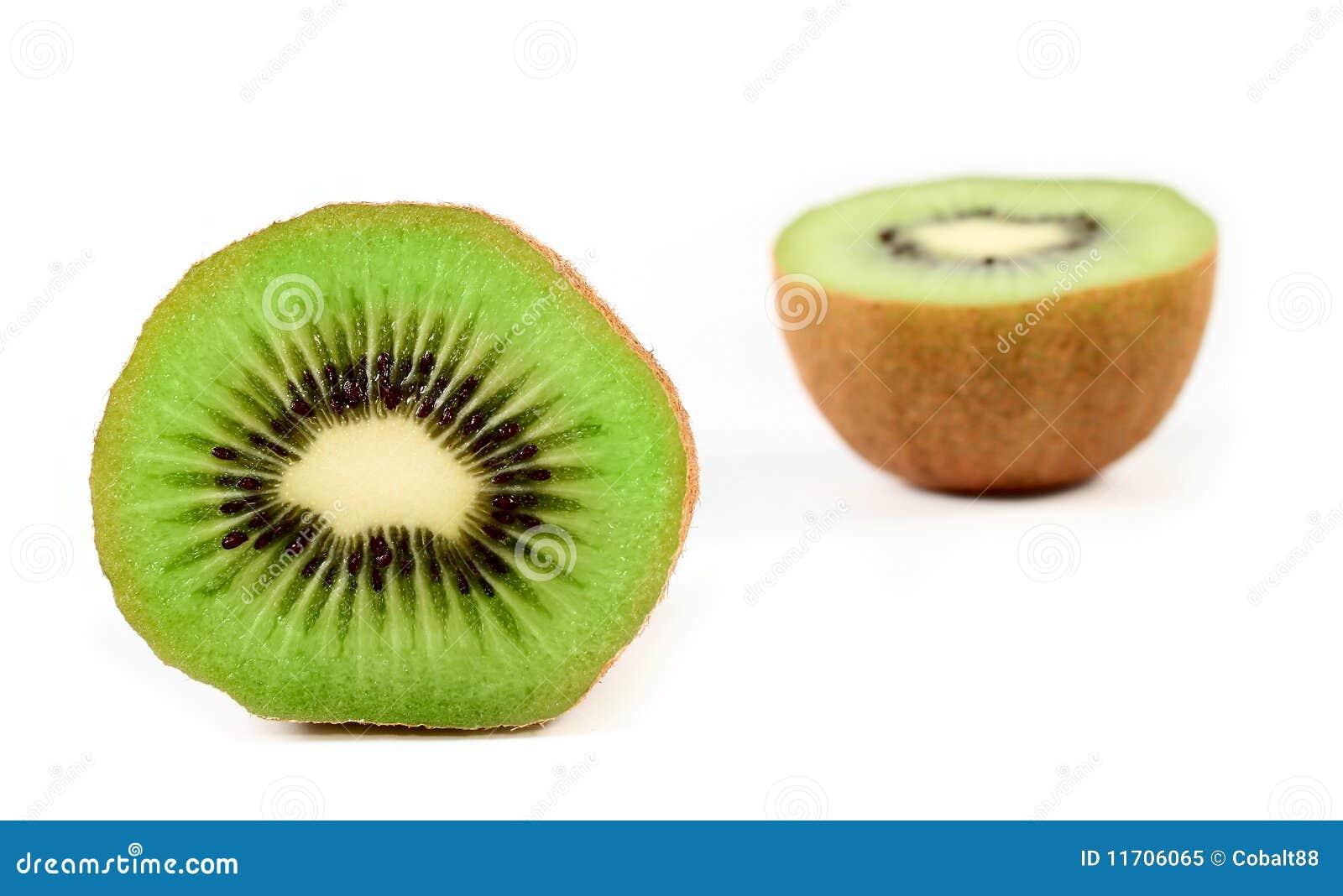 Kiwi Fruit Cut In Half Royalty Free Stock Photo - Image: 11706065