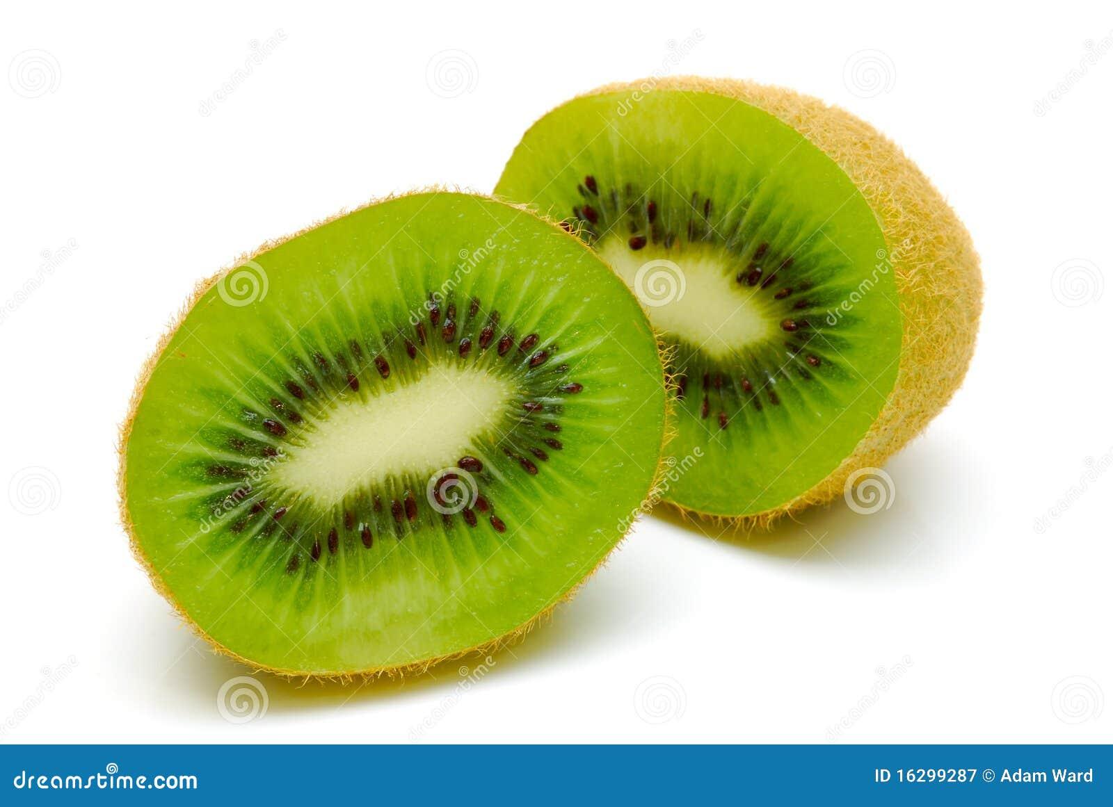 Kiwi Fruit Cut In Half Royalty Free Stock Photography - Image ...