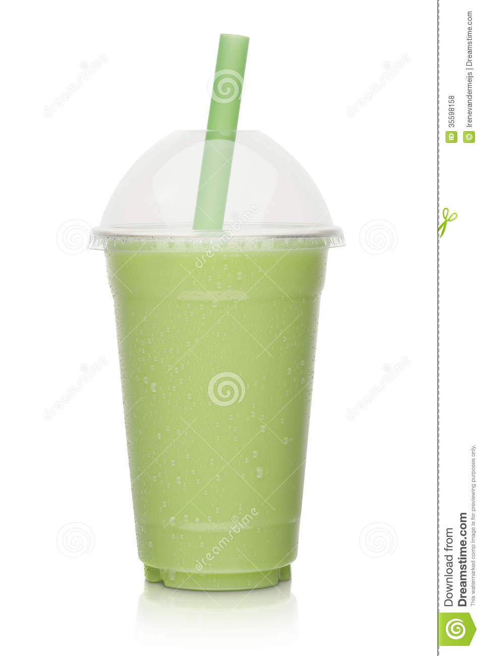 Kiwi Milkshake Stock Photo Image Of Green Shake Milk