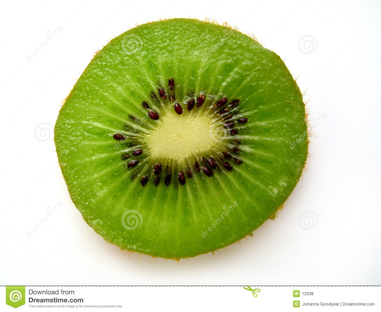 Kiwi Slice II Royalty Free Stock Photos - Image: 12038