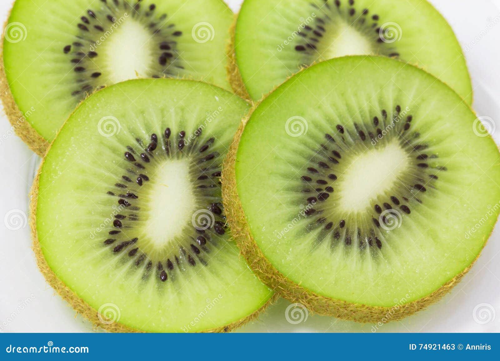 Kiwi Sliced verde