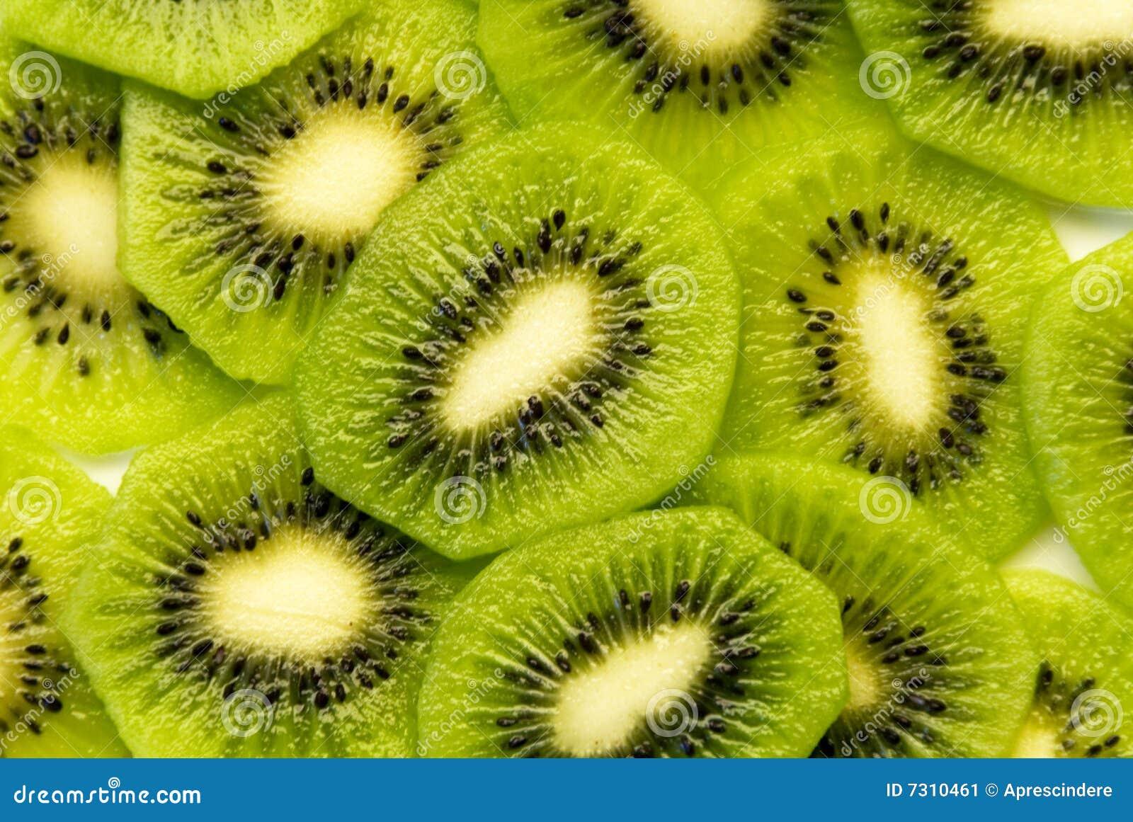 Kiwi Slices Stock Image Image 7310461