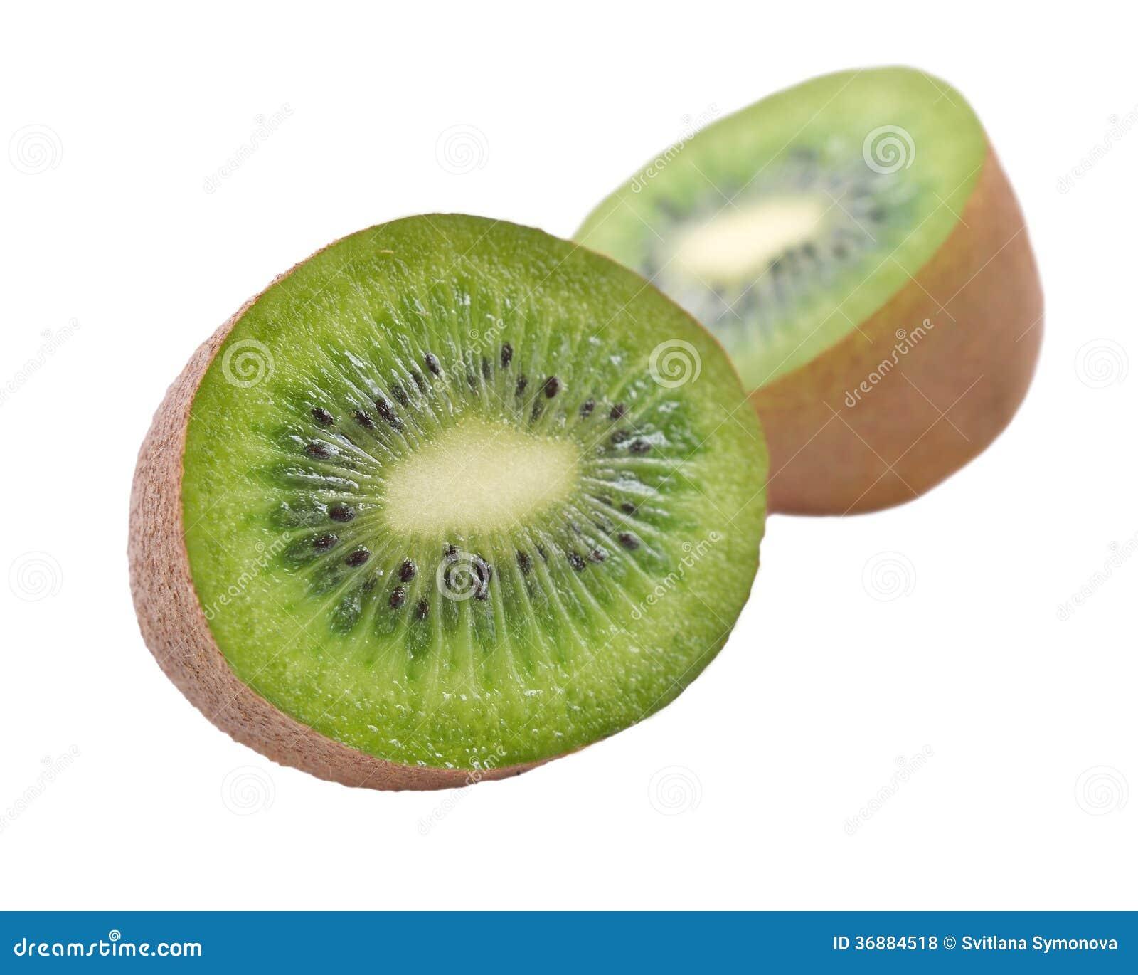 Download Kiwi su un fondo bianco fotografia stock. Immagine di frutta - 36884518