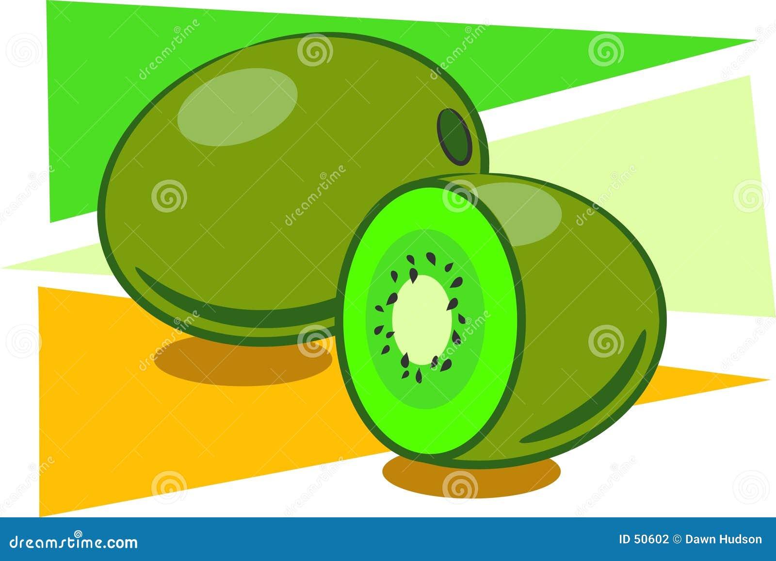 Download Kiwis illustration de vecteur. Illustration du casse, sain - 50602