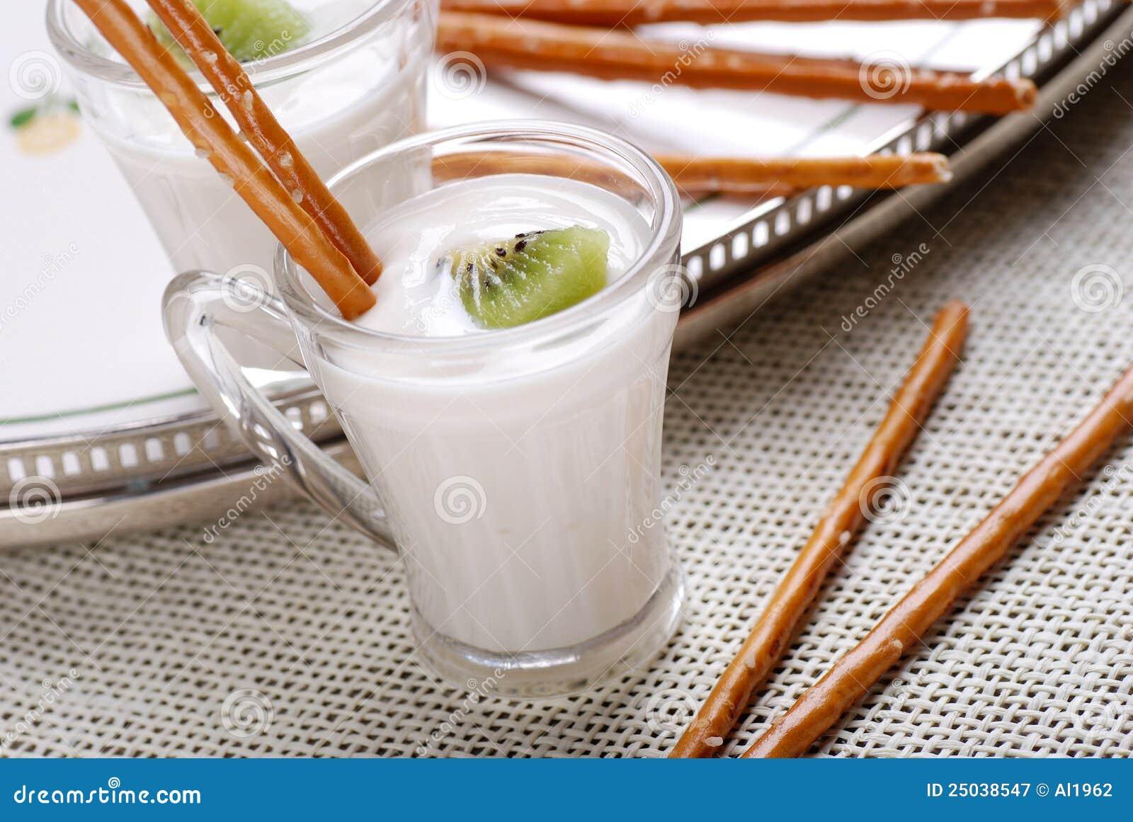 Kiwiyoghurt