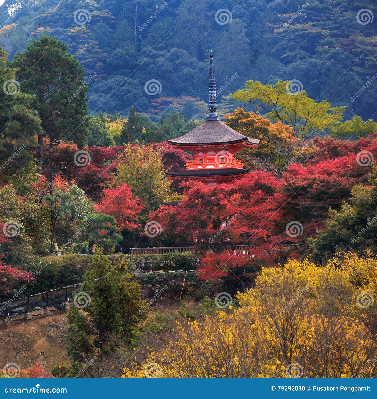 Kiyomizu-Dera στην εποχή φθινοπώρου
