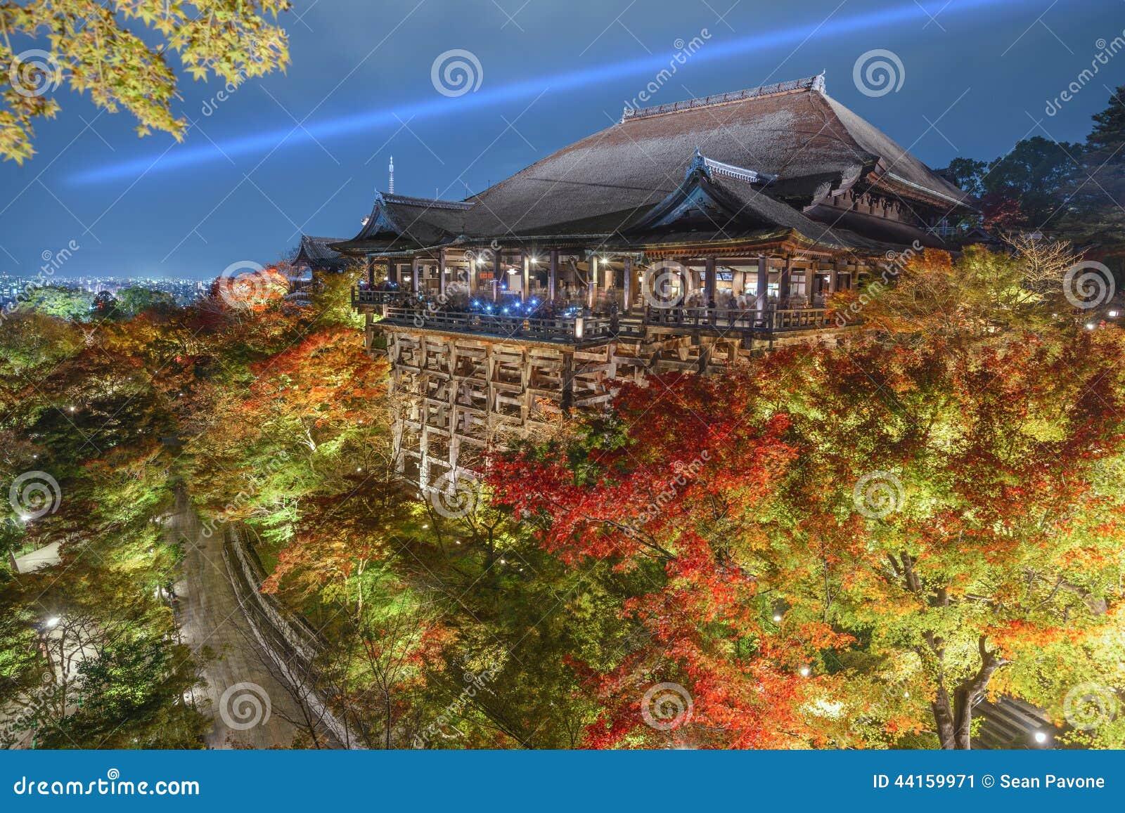 Kiyomizu-deraschrein in Kyoto