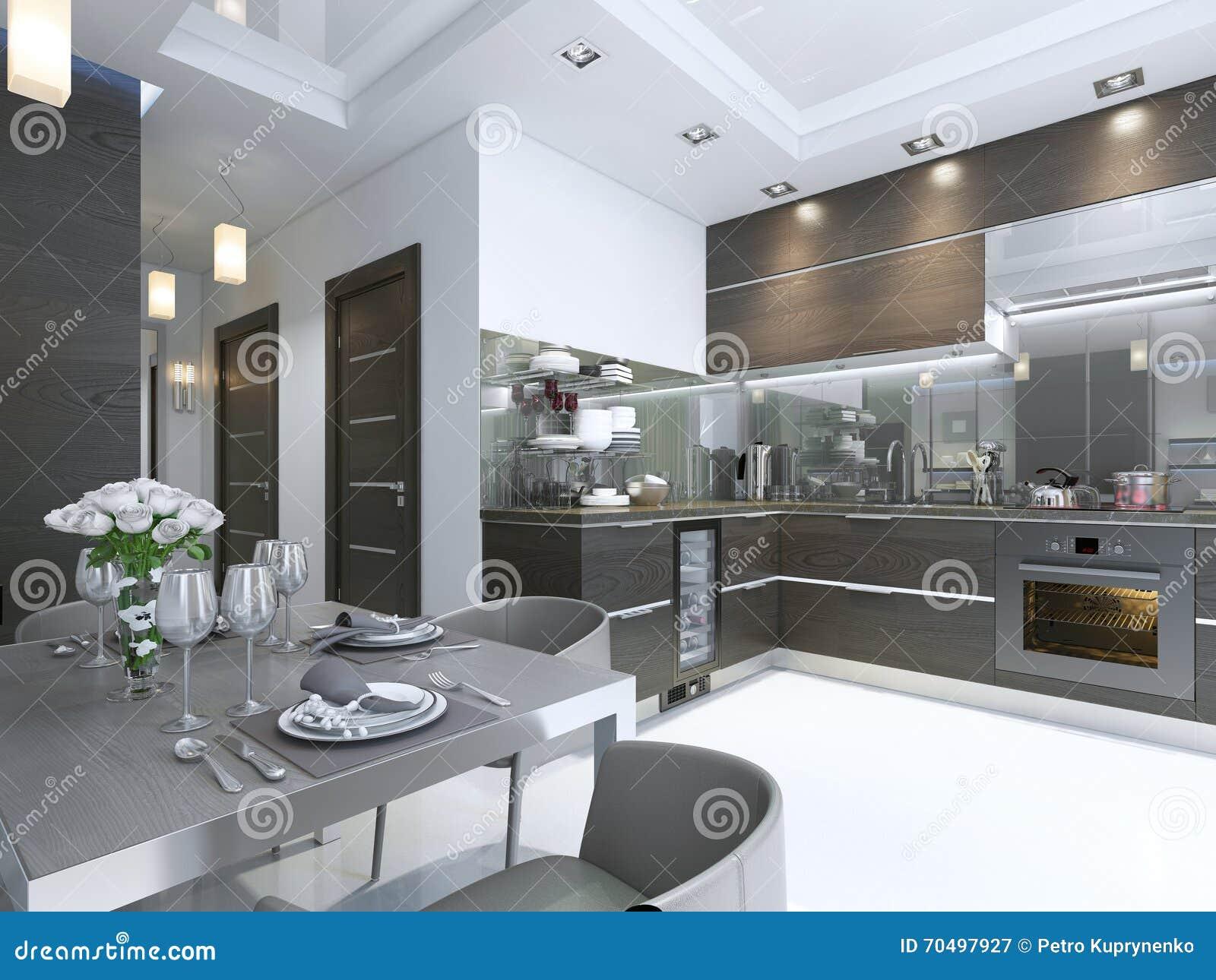 Modern trappa på marmorgolv i hus arkivfoto   bild: 70195638