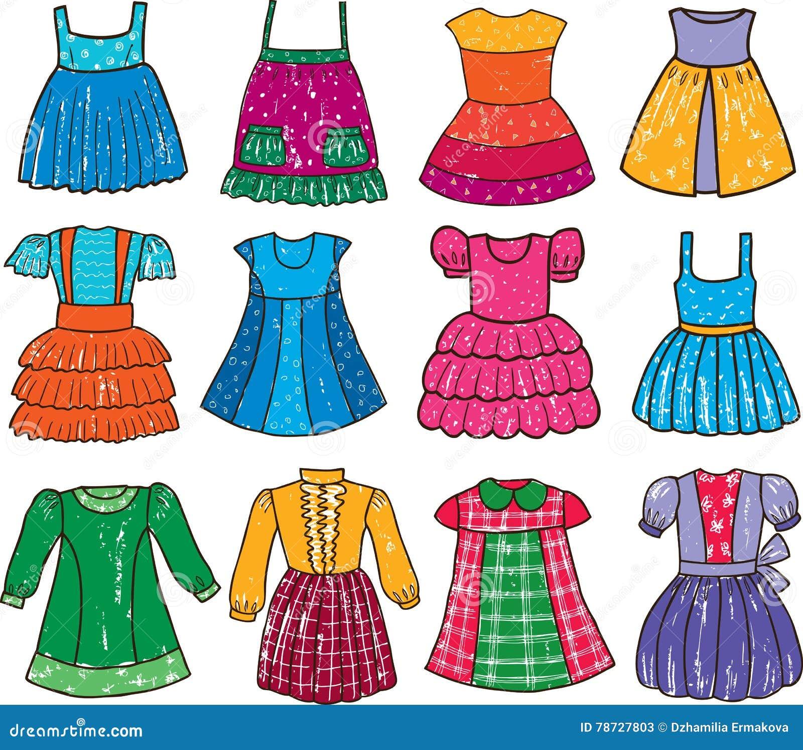 Klänningar för lite flicka